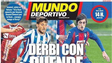 Portada de Mundo Deportivo Gipuzkoa del domingo 13 de ...