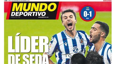 Portada de Mundo Deportivo Gipuzkoa del lunes 23 de ...