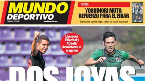 Portada de Mundo Deportivo Gipuzkoa del martes 15 de ...