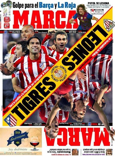 Portada del 9 de Mayo de 2012 | Marca, Jogos, Futebol
