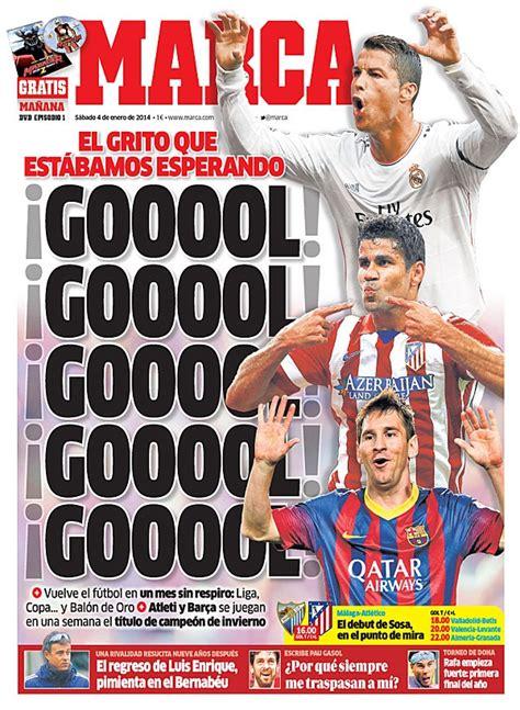 Portada Diario Marca 04/01/2014 – Hoy puede ser un gran ...