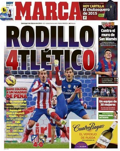 portada Marca. | Periodico deportivo, Atleta, Club ...