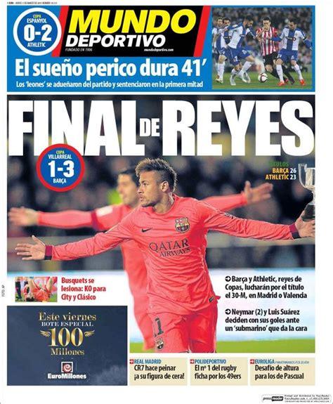 Portada Mundo Deportivo 5/03/2015 | Athletic, Portadas ...