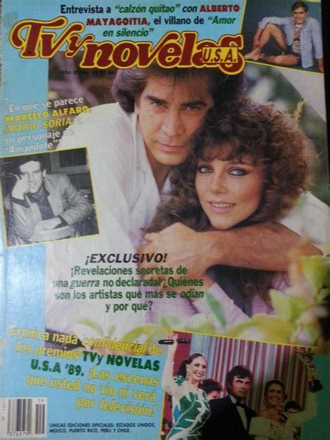 Portada Revista TVyNovelas USA 1989 | Comunidad de ...