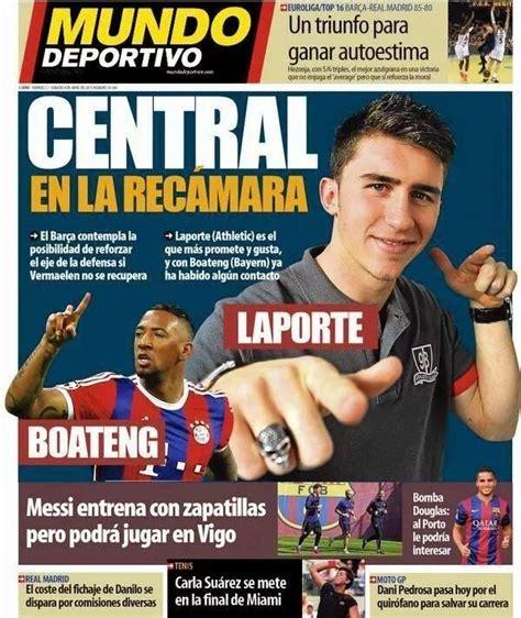 Portadas de los principales Diarios Deportivos en España ...