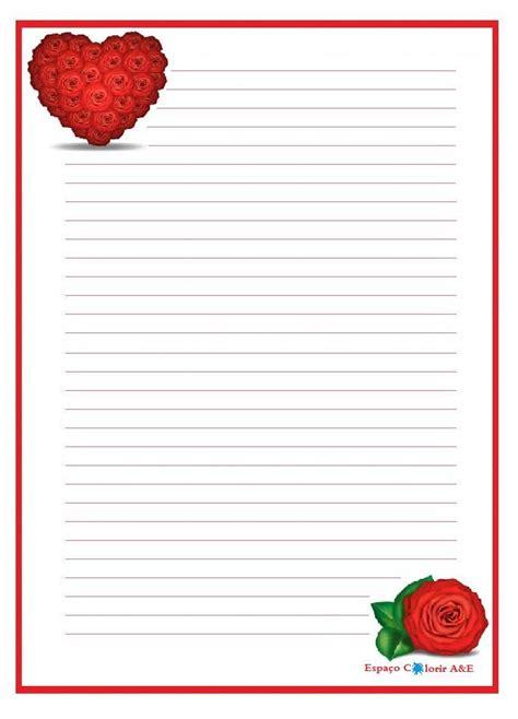 portal A & E, stationery, hearts 1 | Printable Stationery ...
