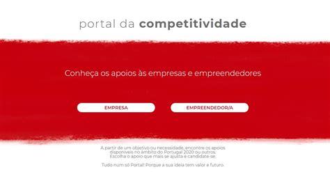 Portal da Competitividade reúne num só site apoios às ...