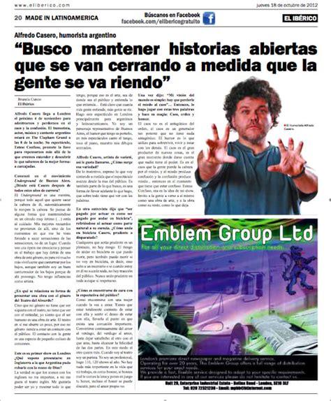 Portfolio El Ibérico | El Periódico en Español de Londres ...