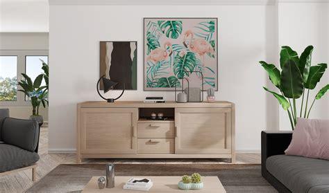 PORTOBELLO mueble tv roble 2 puertas 1 cajón en ...