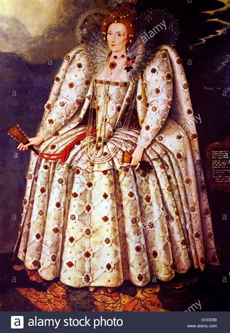 Portrait of Queen Elizabeth I of England  1533 1603  the ...