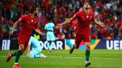 Portugal 1   Holanda 0: resumen, resultado y gol. Liga de ...