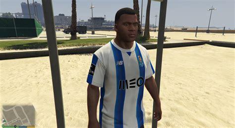Portugal Football Team T Shirt FC Porto 10 A.S.   GTA5 ...