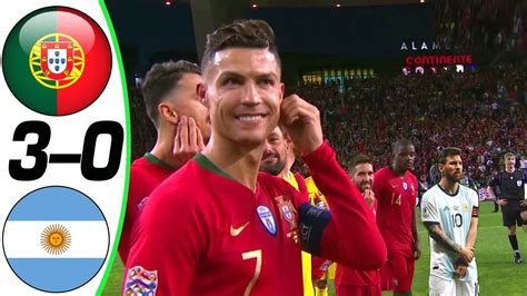Portugal vs Argentina 3 0   All Goals and Highlights ...