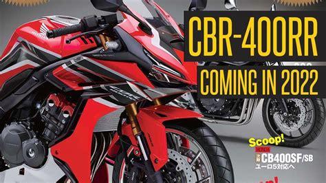 Posible Honda CBR400RR para 2022   MOTOSAN