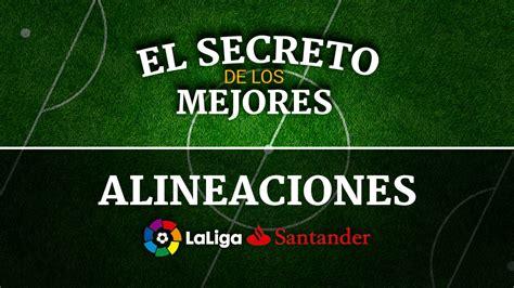 Posibles alineaciones Jornada 24 de la Liga Santander en ...