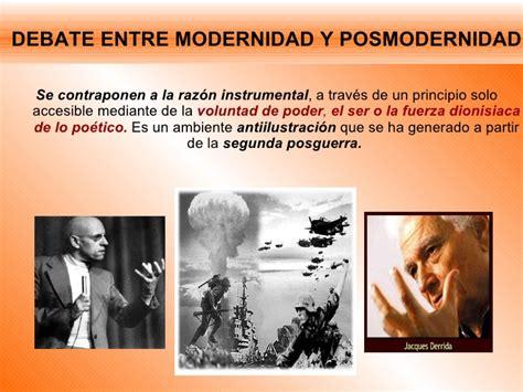 Posmodernidad y globalización