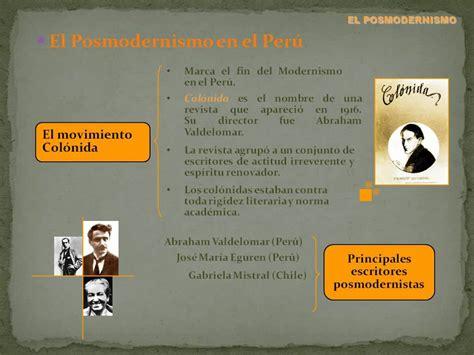 Posmodernismo en el Perú   YouTube