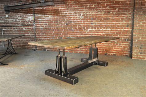 Post Industrial Table   Vintage Industrial Furniture