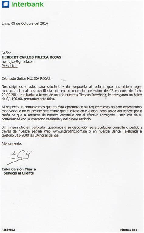 Post: Interbank da billete falso