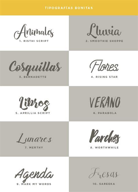 Post recopilatorio con 40 tipografías bonitas y para ...
