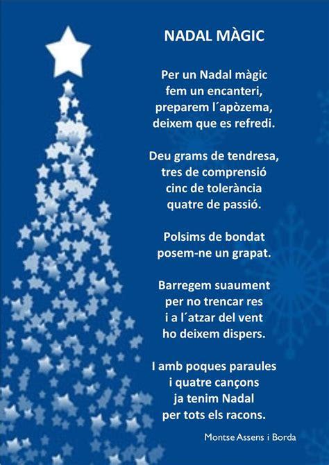 Postal de nadal   Poemes de nadal, Poemas de navidad ...