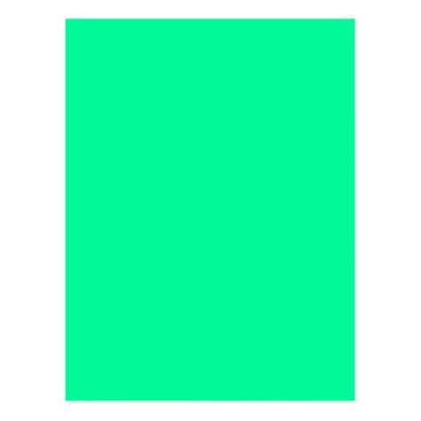 Postal Fondo verde en colores pastel de color sólido de ...