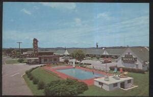 Postcard KNOXVILLE Tennessee/TN Knox Tourist Motel Motor ...