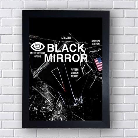 Poster Netflix Black Mirror no Elo7   RSdecore  E4BFD9
