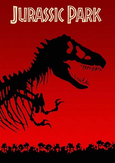 Posters de la saga Jurassic Park