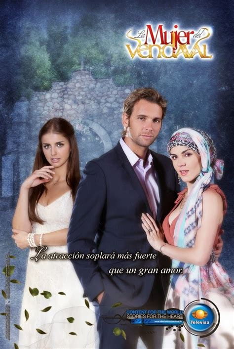 Posters oficiales telenovela La mujer del vendaval   Más ...