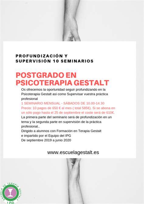 postgrado2019ok   Instituto de Psicoterapia Gestalt IPG de ...