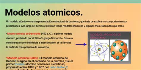 Postulados De Los Modelos Atomicos De Thomson   Noticias ...