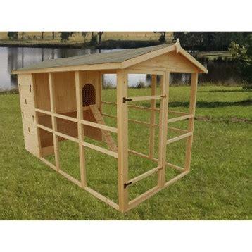 Poulailler bois, niche de jardin, clapier, abreuvoir au ...