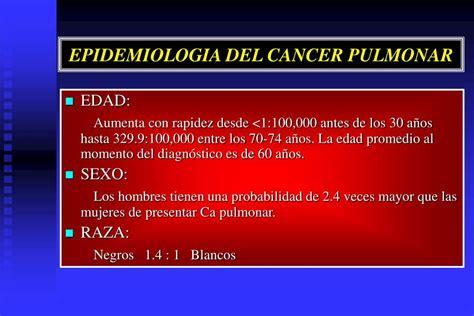 PPT   CANCER DE PULMON PowerPoint Presentation, free ...