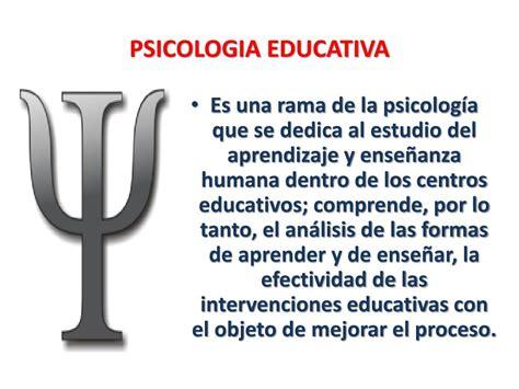 PPT   INVESTIGACIONES APLICADAS AL ÁREA DE LA PSICOLOGÍA ...
