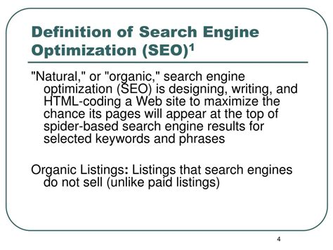PPT   Search Engine Optimization  SEO  PowerPoint ...
