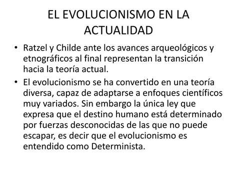 PPT   TEORIA EVOLUCIONISTA PowerPoint Presentation, free ...