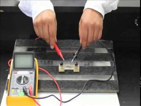 Practica 5 Resistencia eléctrica y ley de OHM   YouTube