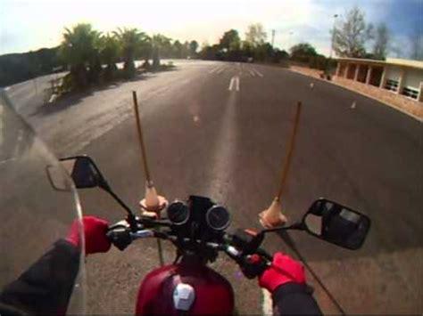 Practica Examen Pista Moto A2   YouTube