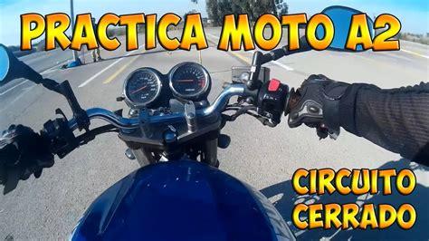 Práctica Moto A2   Circuito cerrado   YouTube
