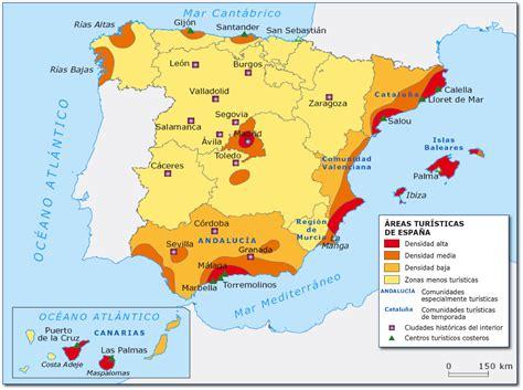 Práctica zonas turísticas. Tema 17 | Geografía de España ...