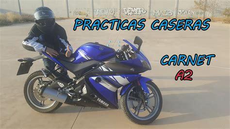 PRACTICAS CASERAS / CARNET MOTO A2 / CIRCUITO CERRADO ...