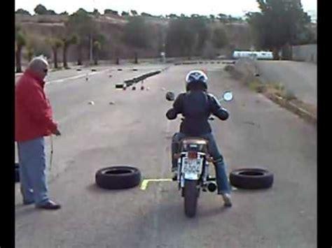 Practicas de moto para examen tipo A   YouTube
