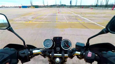 Prácticas maniobras o circuito examen moto a2 parte 3 ...
