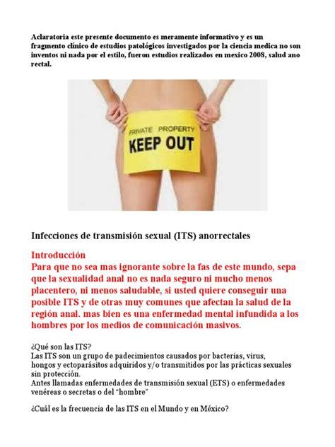 Practicas Sexo Anal, y Sabes Sus Consecuencias | Infección ...