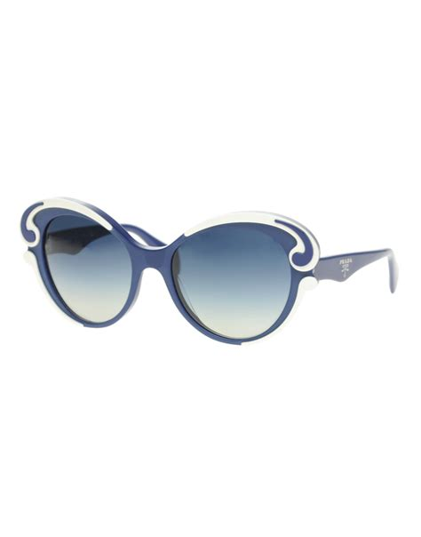 Prada Minima Baroque Sunglasses in Blue | Lyst