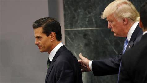 Präsidentschaftskandidat Donald Trump besucht Mexiko   WELT