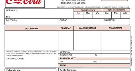 pre prensa digital: FACTURA COCA COLA VECTORIZADA