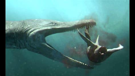 Predator X hunts in deep water | Planet Dinosaur | BBC ...