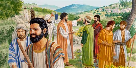 Predica por Galilea y capacita a los apóstoles ...